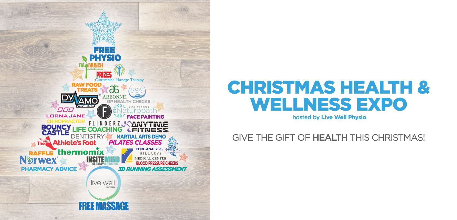 Christmas Health and Wellness Expo this Saturday