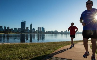 Nine of the best running tracks in Perth