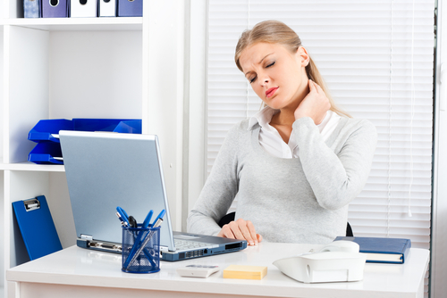 Easy posture tips and exercises to do at your desk