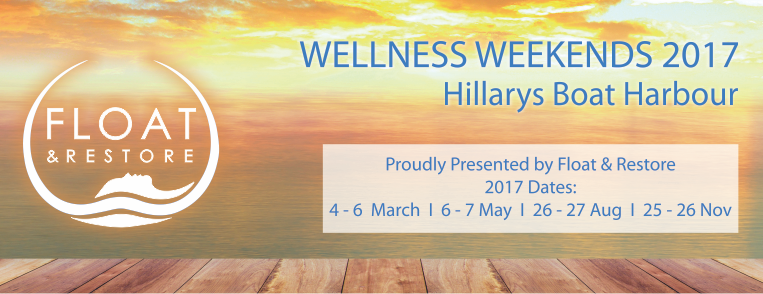 Wellness Weekend at Hillarys Boat Harbour, hosted by Float & Restore